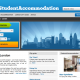 iStudentAccommodation London landing page